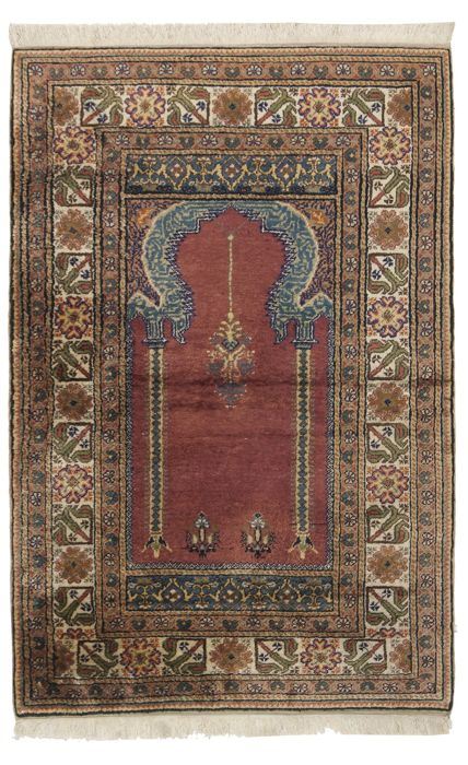 Silk Turkish 130 × 85 cm