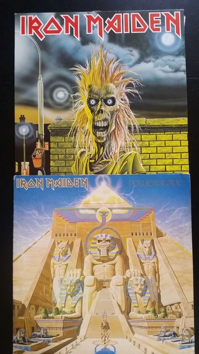 4 X Iron Maiden Lp + 1 Pic. Disc (Maxi)