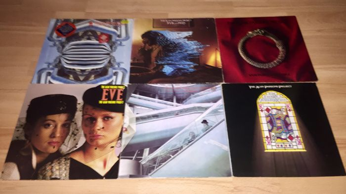 Lot Of 6x The Alan Parsons Project Albums Incl;Vulture Culture+Pyramid+The Turn Of A Friendly Card+Eve+I Robot+Ammonia Avenue