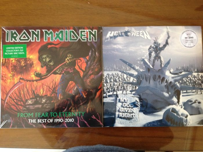 Iron Maiden - Helloween  From Fear To Eternity