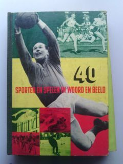 Variant of Panini - Blue Band 1954 - 8 complete sports booklets