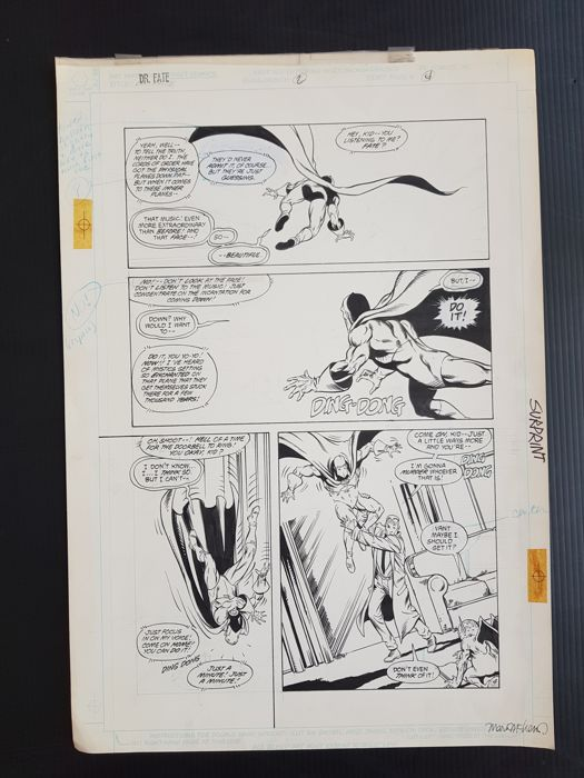 Shawn McManus - Original Art Page 4 - Doctor Fate #2 - (1988)