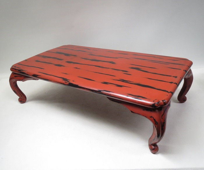 Negoro lacquer low table - Japan - ca. 1930