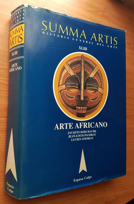 SUMMA ARTIS XLIII 43 ARTE AFRICANO (Essential, important book on African art)