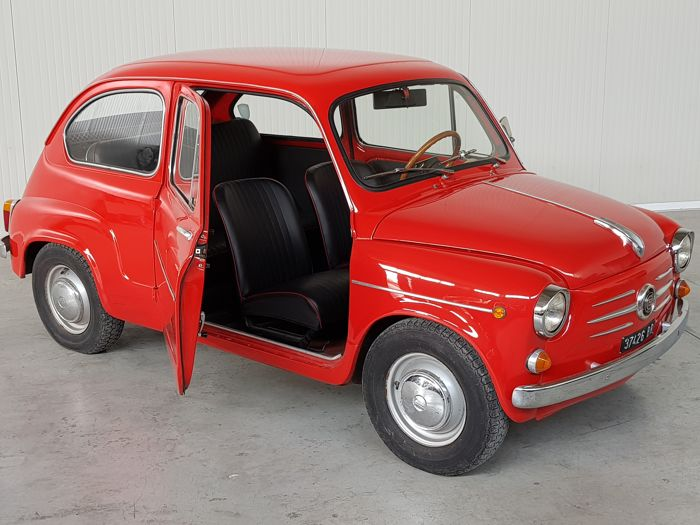 fiat 600 d 1960 no reserve catawiki