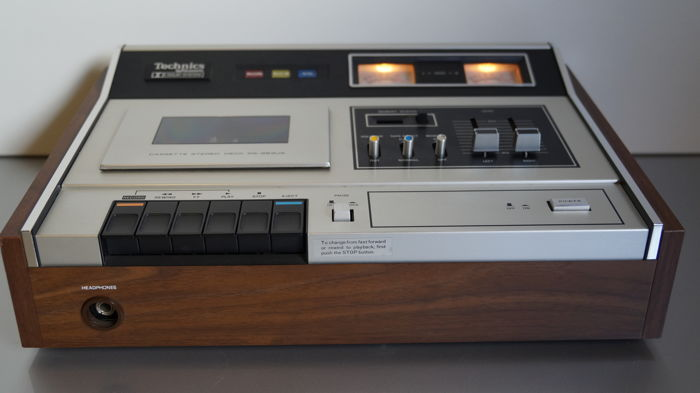 Beautiful Technics RS263US vintage (1973) cassette tape deck, in mint condition!