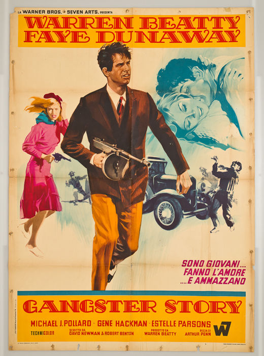 G.Nistri - Gangster story Bonnie and Clyde - Warren Beatty 1967