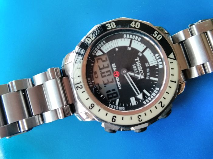 Tissot - Sea-Touch  - Tactile - 200m Diver - Heren - 2011-heden