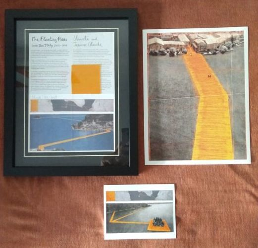 Christo et Jeanne-Claude - The Floating Piers, Lake Iseo, Italy 2014-16
