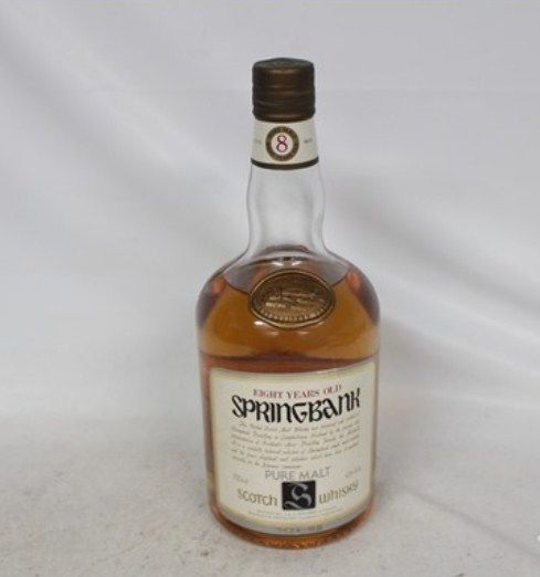Springbank 8 years old -  1980s - OB
