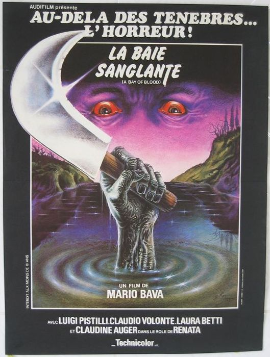 La baie sanglante / Twitch of the Death Nerve (Maria Bava, 1971) 1981 - Very nice