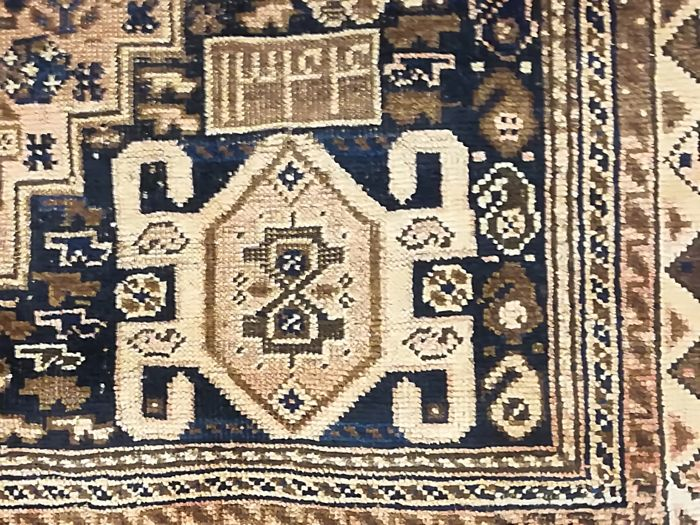 Persian rug, hand-knotted - Ghashghaei, 155 x 253 cm - Iran