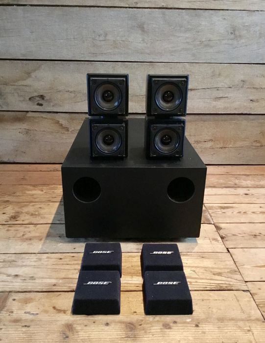 Bose Acoustimass double/twin cube speaker system