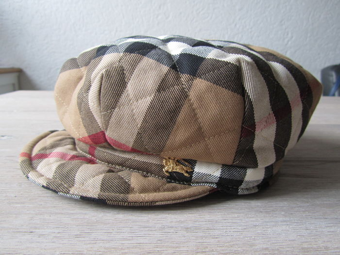Burberry - Quilted Newsboy Cap - As New