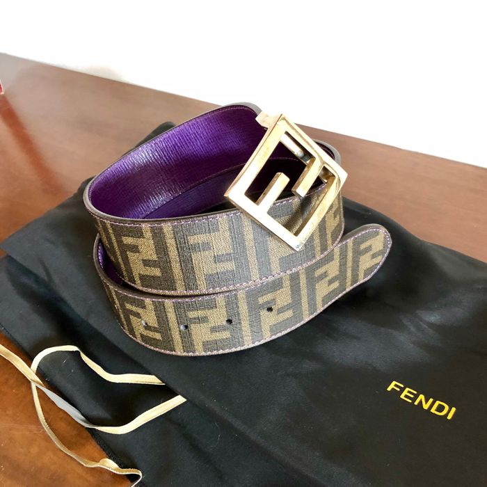 Fendi - Belt double face