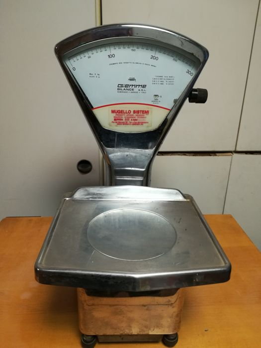 Biemme Sumirago Varese scale - max. weight 3 kg - 1980s - Italy