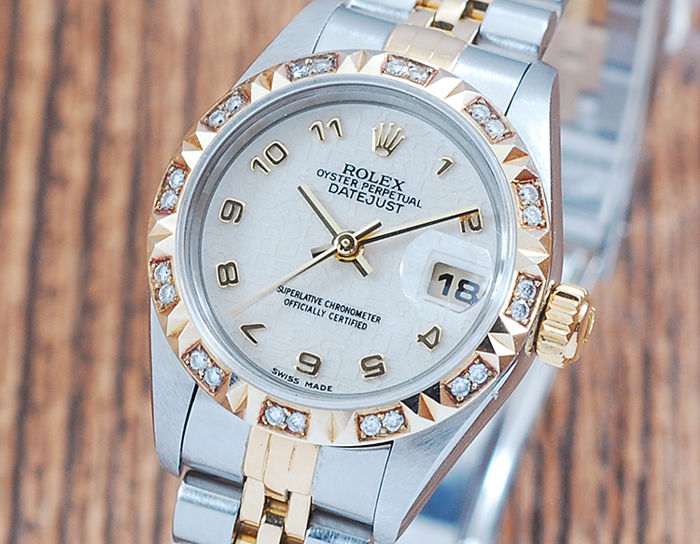 Rolex - Oyster Perpetual Datejust  - 79173 - Dames - 1990-1999