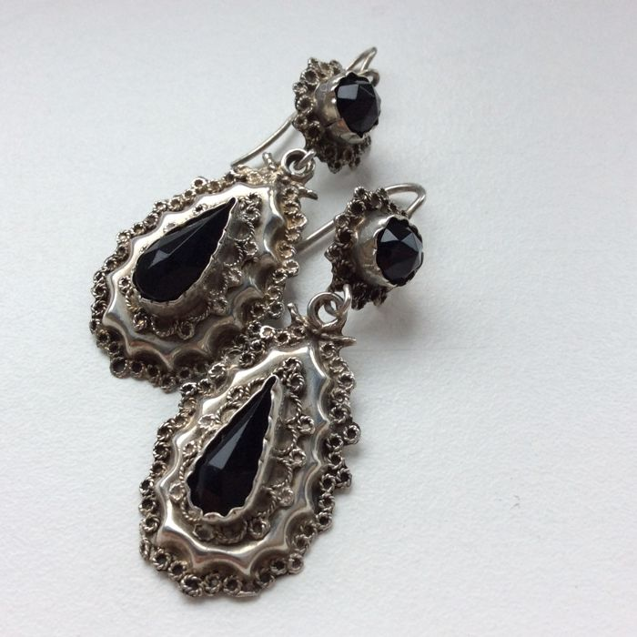 jewelry wovensouls indian silver products antique pipe earrings