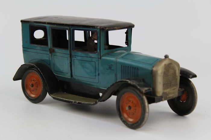 Bing Germany 27 Cm Tin Toy Wind Up Car Limousine 1920s 30s