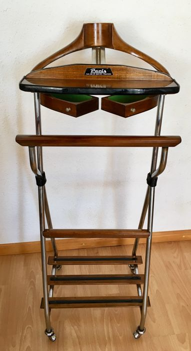 Patent Paris design - Night valet stand, with jeweller drawers