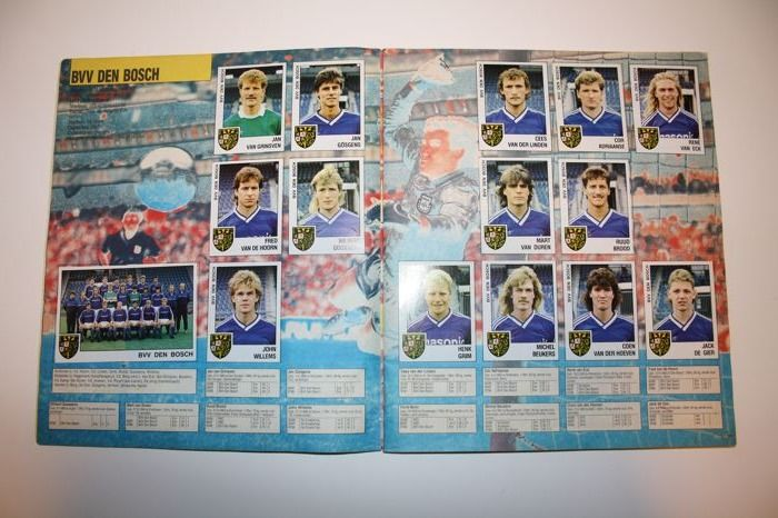 Panini - Voetbal 89 - Dutch Eredivisie and first division of the season 88-89 - Complete album