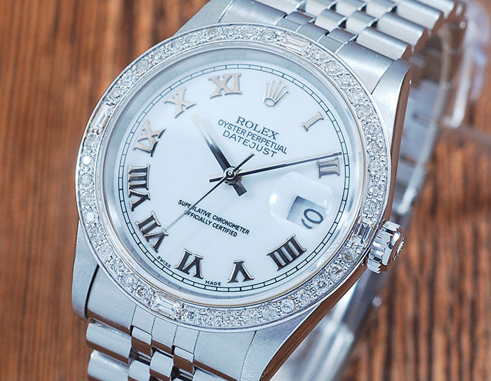 Rolex - Oyster Perpetual DateJust  - 16200 - Heren - 1990-1999