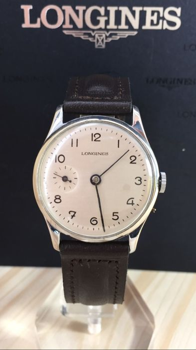 Longines - sub-dial 9 - Mecánico - Heren - 1901-1949