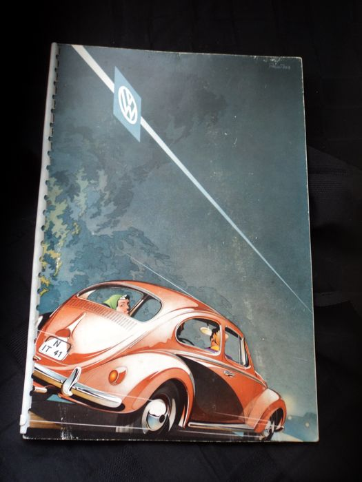 1 Volkswagen General catalogue of 1957 incl. price list of the 1.2.57