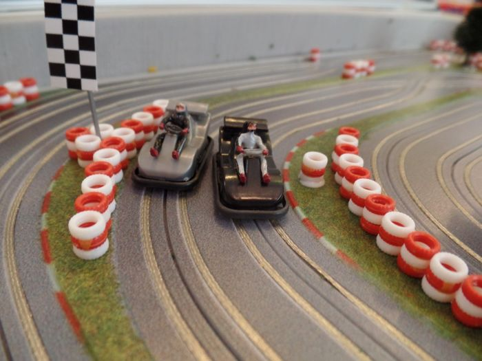 Car racing Slotacing - from a case - Ready to Race Faller - ProIdee