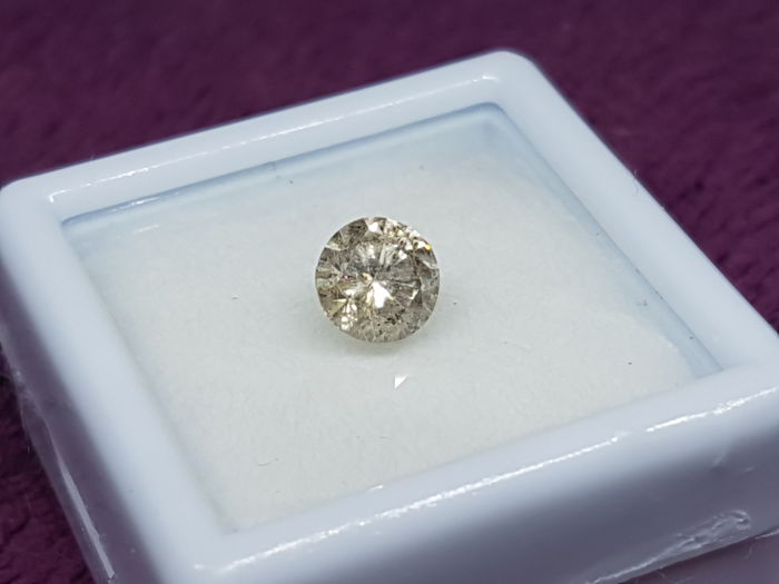 0.79 ct Light Brown Diamond SI2