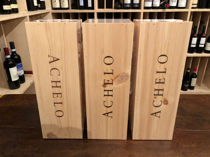 "2016 La Braccesca Cortona Syrah ""Achelo"" - 3 Magnums (1,5L) in single OWC"