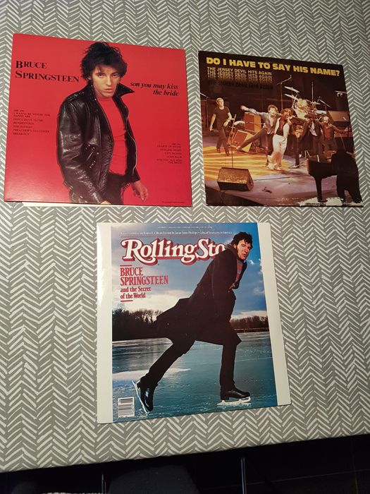 Lot Of 3 Rare Bruce Springsteen Bootlegs