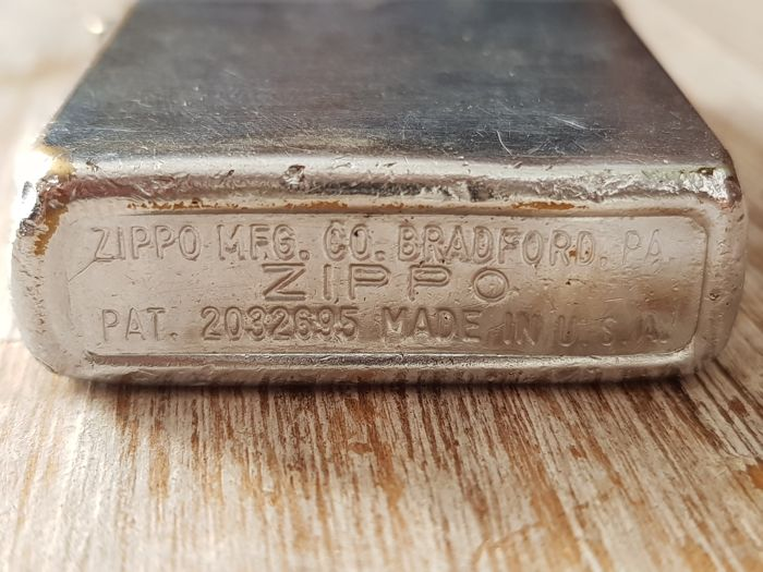 1933-1937 extremely rare Zippo lighter case unused - one of a kind - one of the first ever made
