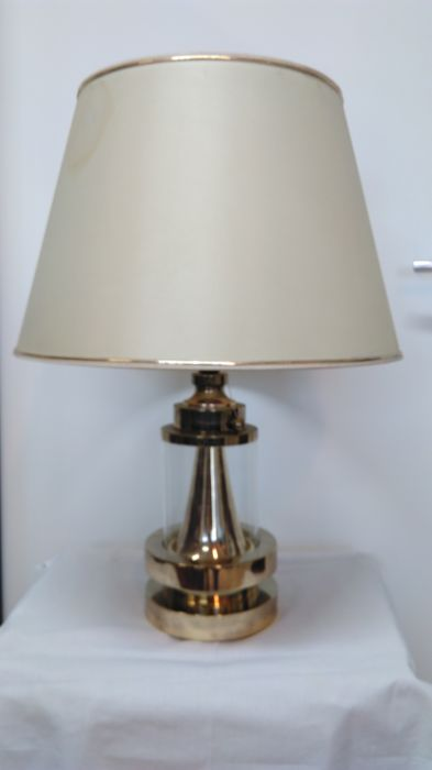 Beautiful lamp from ship - brass - Italy, 1970s