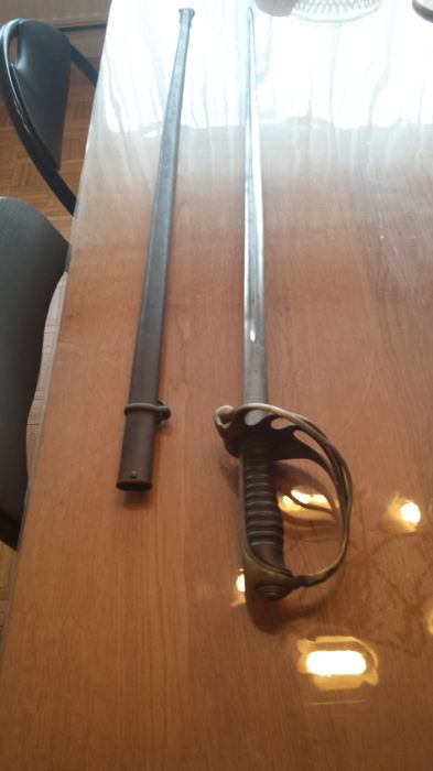 Infantry officer's sword