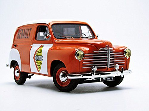 Solido - 1:18 - Renault Colorale Fourgon 'Renault' 1953