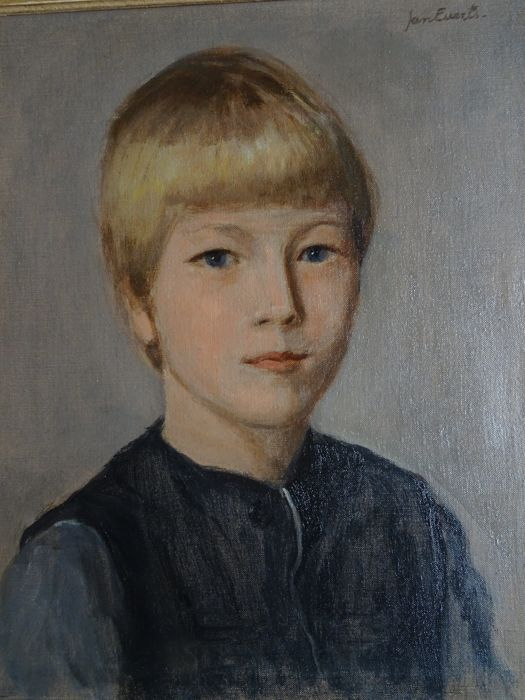 "Jan Everts (1899-1993) - Jongensportret ""Joris"""