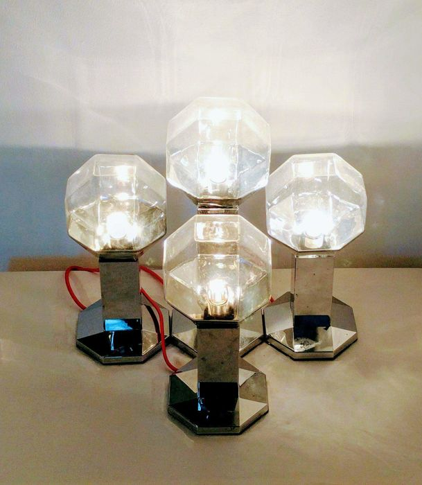 Motoko Ishii for Staff Leuchten - Set of 4 lamps