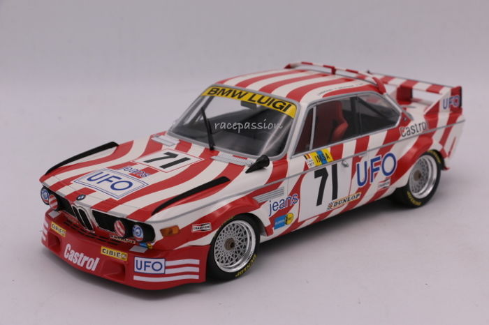 minichamps schaal 1 18 bmw 3 0 csl 24h le mans 1977 71 limited edition catawiki. Black Bedroom Furniture Sets. Home Design Ideas