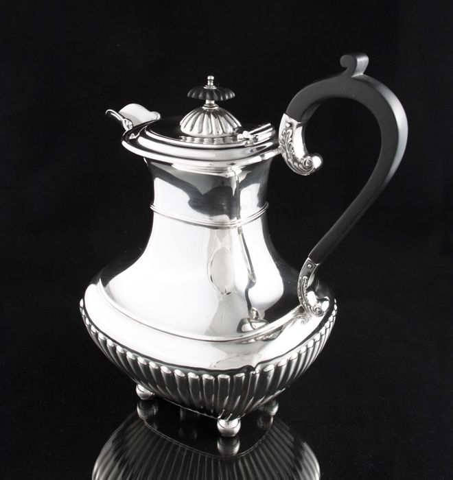 Sterling silver hot water jug/coffee pot - James Dixon & Sons - Sheffield - 1926