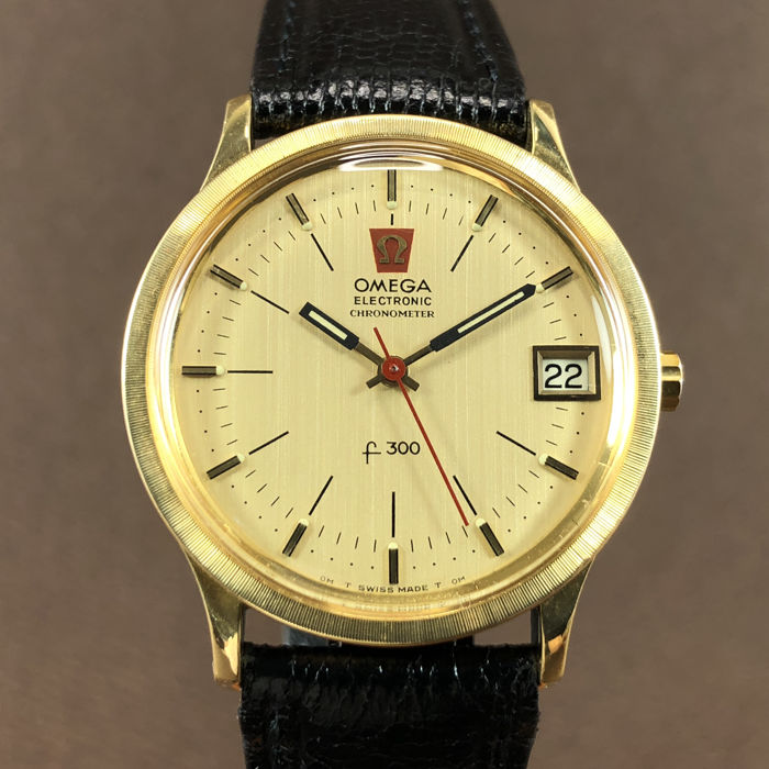 Omega - Electronic Tuning Fork Chronometer F300 Date       - Ref.198003 - Homme - 1970-1979