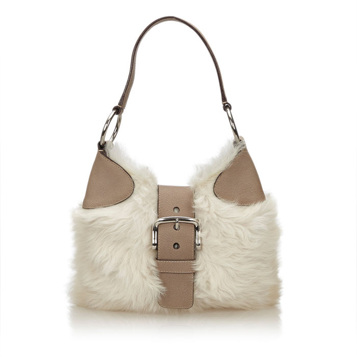 Prada - Fur Hobo Bag