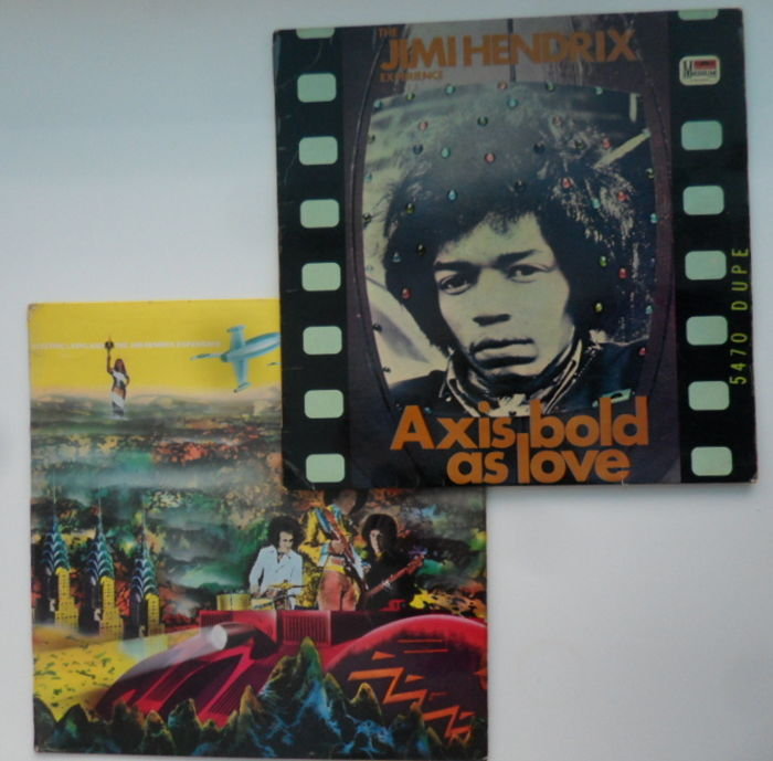 Jimi Hendrix Experience : Axis Bold As Love , Electric Ladyland Vol.1
