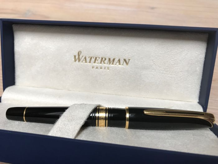Waterman Charleston fountain pen 18k