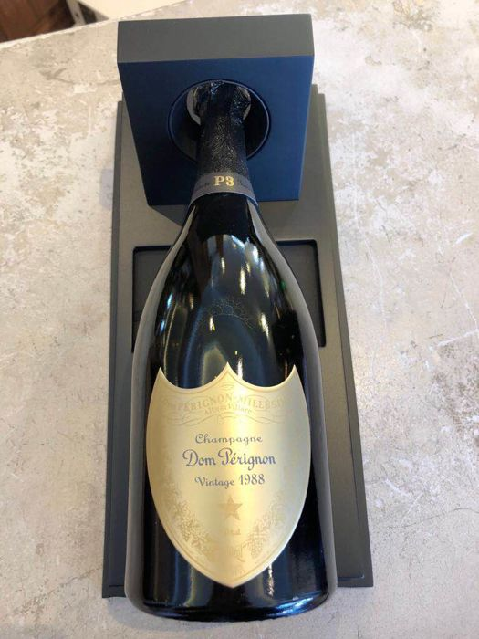 1988 Dom Perignon P3 Plenitude Brut, Champagne - 1 bottle in box . very rare