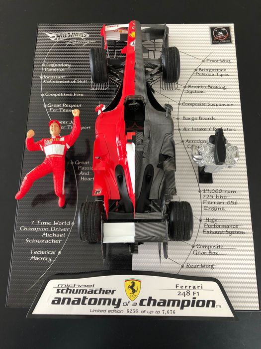 Hot Wheels - 1:18 - Ferrari F248  - Michael Schumacher