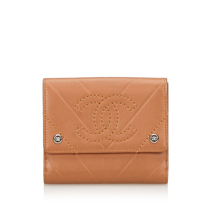 Chanel - Leather Small Wallet