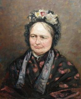 L.Philippet (1843-1906) - Oude vrouw