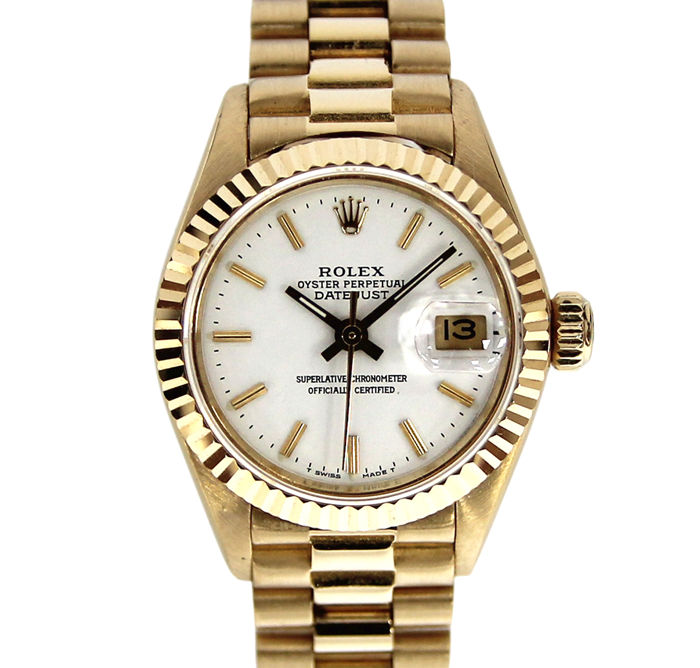 Rolex -  Oyster Perpetual Datejust - 69178 - Mujer - 1980 - 1989