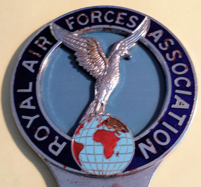 Car Grill Badge - Royal Air Forces Association